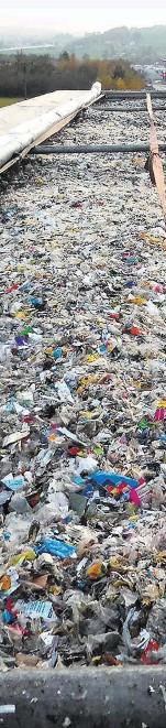 nicht recycelbarer abfall