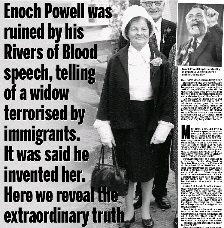 enoch powell rivers of blood speech