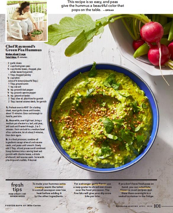 PressReader - O, The Oprah Magazine (USA): 2020-04-01 - Chef ...
