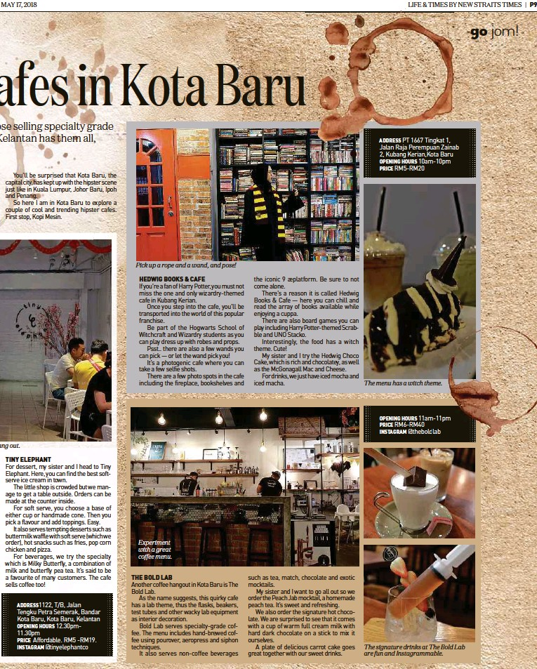 PressReader - New Straits Times: 2018-05-17 - Afes in Kota Baru