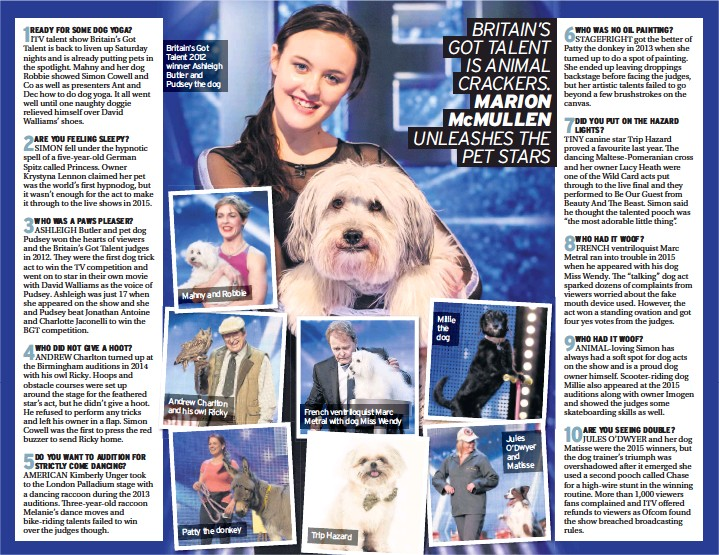 PressReader - The Chronicle: 2017-04-14 - BRITAIN'S GOT TALENT IS