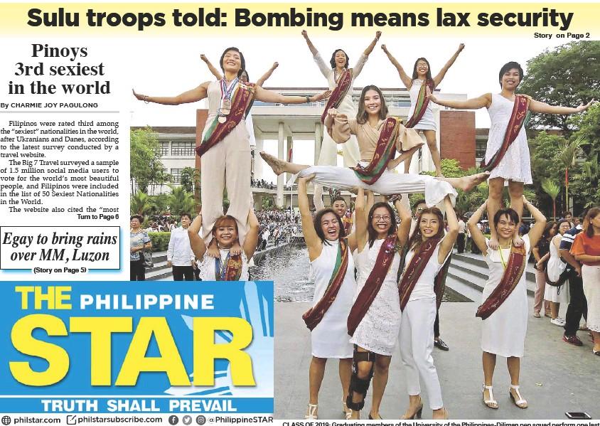 PressReader - The Philippine Star: 2019-07-01 - CLASS OF 2019: