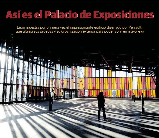 ASÍ ES EL PALACIO DE EXPOSICIONES