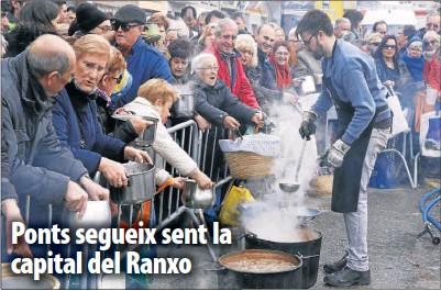 PONTS SEGUEIX SENT LA CAPITAL DEL RANXO
