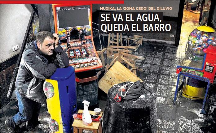 SE VA EL AGUA, QUEDA EL BARRO