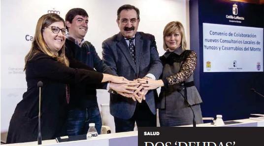 DOS 'DEUDAS' SANITARIAS SALDADAS